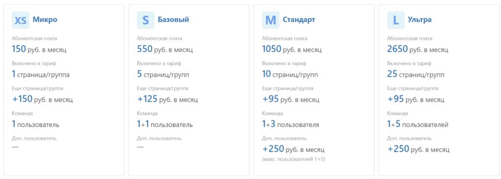 тариф на отложенный постинг в инстаграм в Novapress